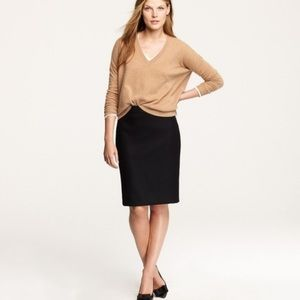 New! J.Crew Wool Pencil Skirt, Fully Lined. Size 6